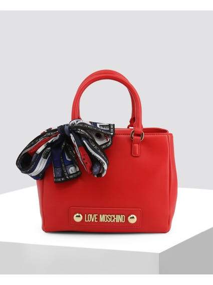 Red Stylish Leather Handbag