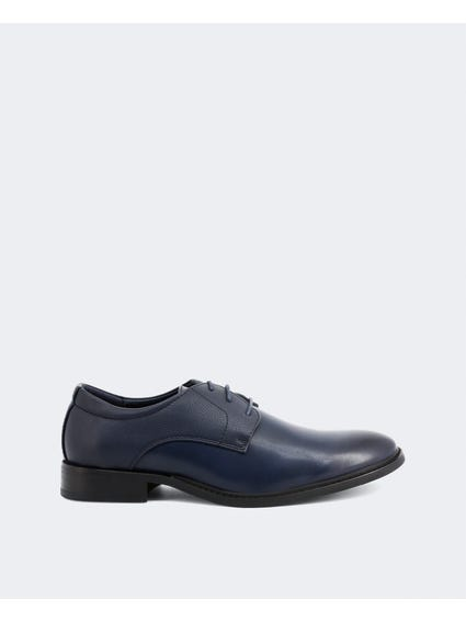 Navy Bart Bitexture Derby Shoes