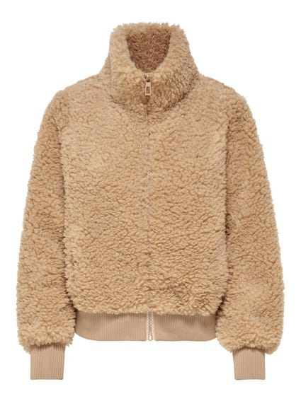 Faux Fur Zupper  Jacket
