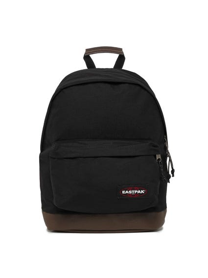 Black Padded Zip Backpack