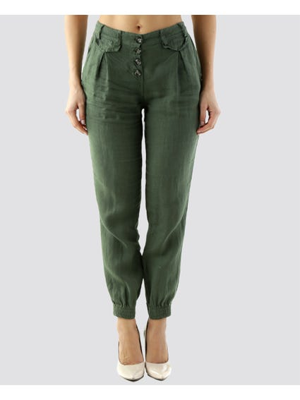 Fitted Cuffs Trouser