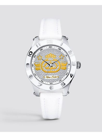 Rollie Silver Dial Analog Watch