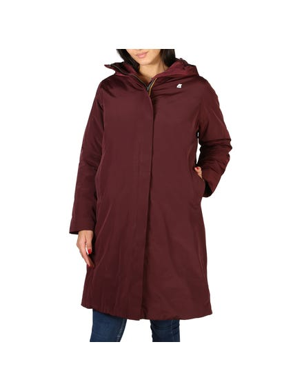 Long Hem Hooded Long Sleeve Jacket