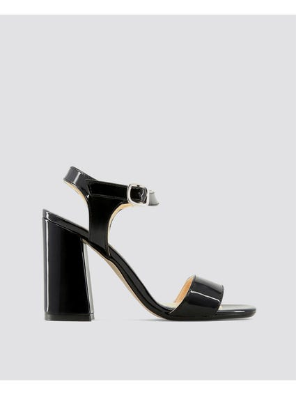 Black Angela Sandals