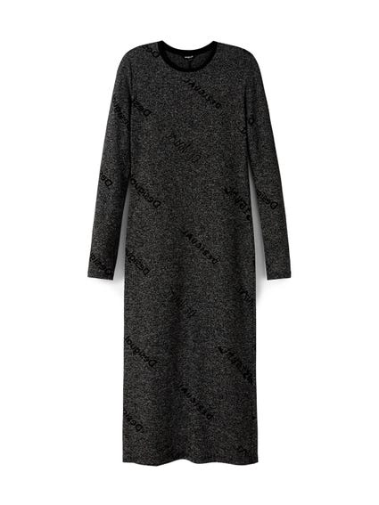 Long Sleeve T-Shirt Maxi Dress