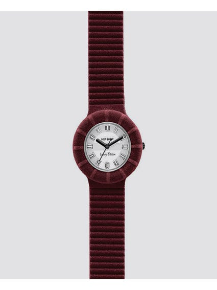 Velvet Touch White Dial Analog Watch