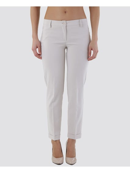 Button Pocket Trousers