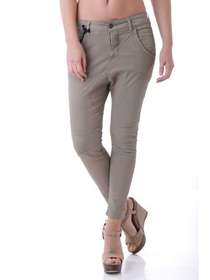 Classic Button Zip Trouser