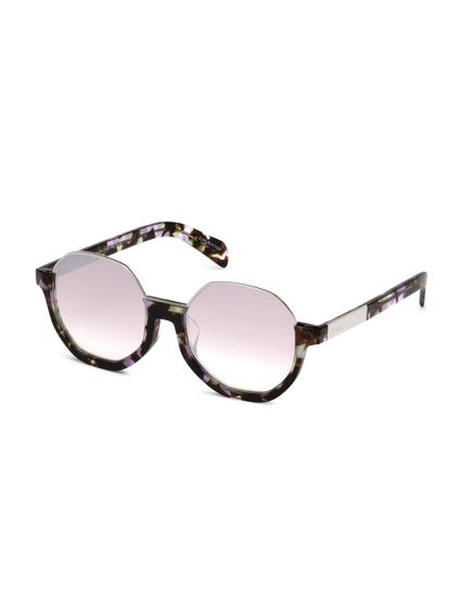 Brown Camouflaged Inserted Lenses Sunglasses