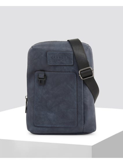 Blue Greg Crossbody Bag
