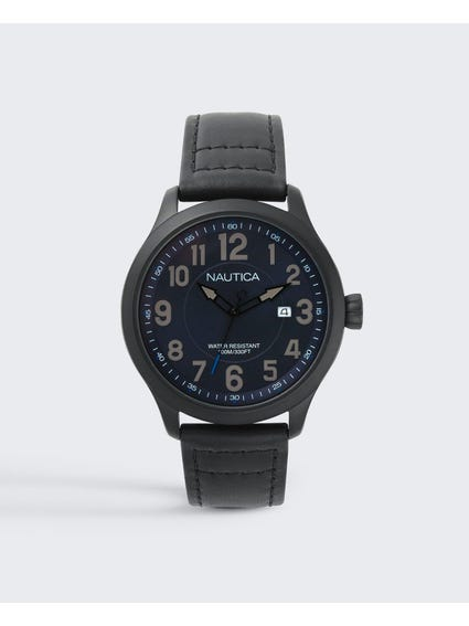Matte Black Case Analog watch