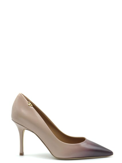 Pattent Pointed Toe Pumps