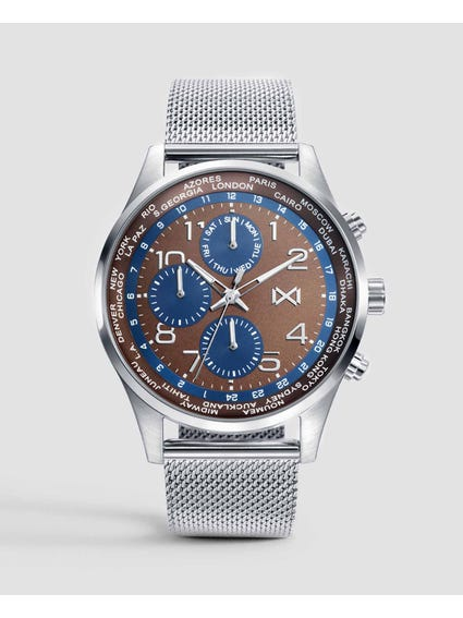 Midtown Chronograph Stainless Steel Watch