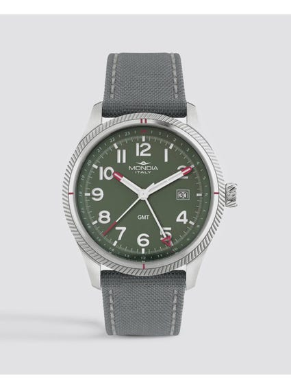 Green Dial Quartz Analog Watch