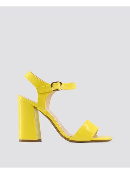 Yellow Angela Sandals