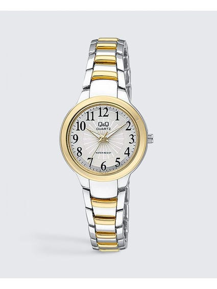 Two Tone Stainless Steel Quartz Watch