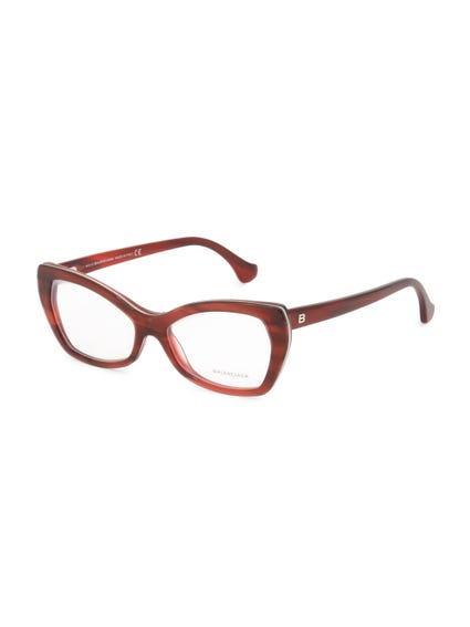 Red Full Frame Butterfly Eyeglass