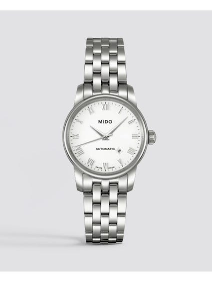 Silver Baroncelli Stainless Steel Watch