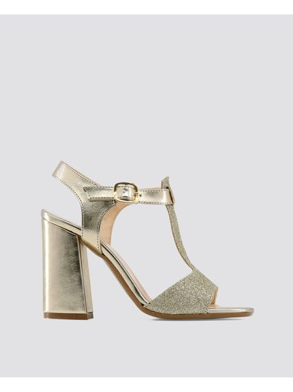 Gold Caterina Sandals