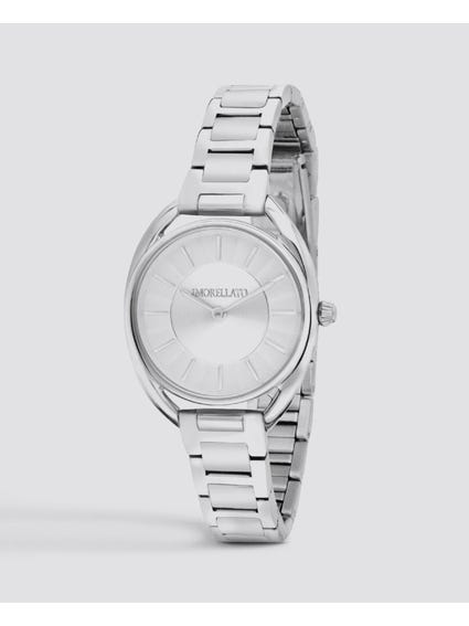 Silver Tone Analog Watch