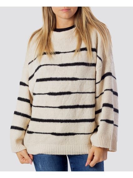 Stripe Oversized Knitwear