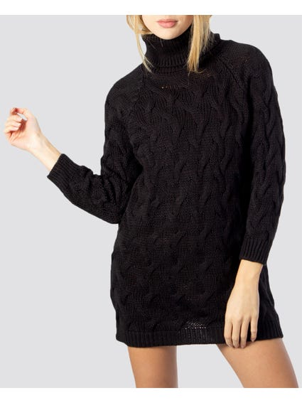 Puff Sleeves Knitted Sweater