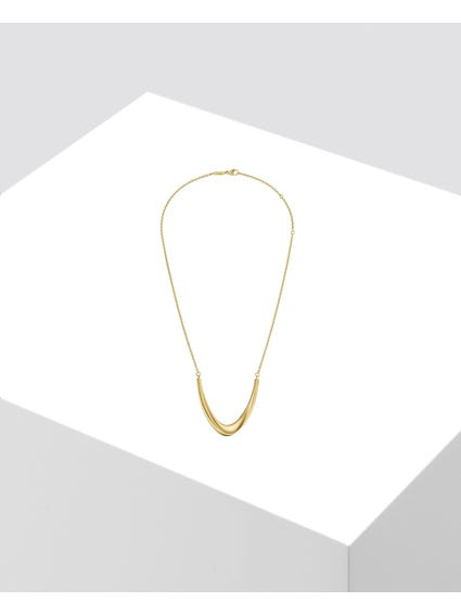 Gold Shade Stainless Steel Necklace