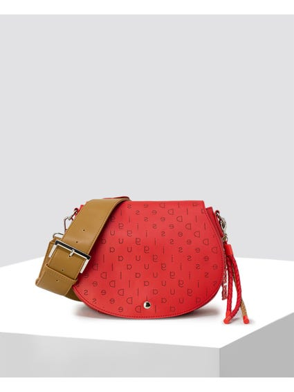 Red Rigali Crossbody Bag