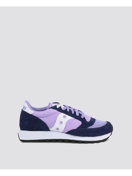 Purple Jazz Suede Sneakers