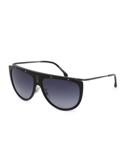 Black Round Shape Gradient Sunglasses