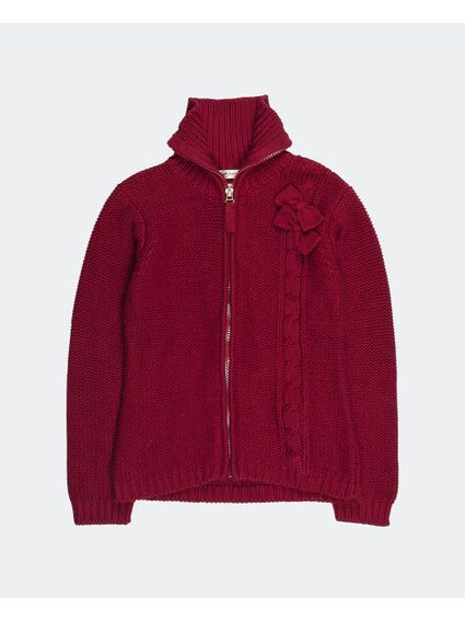 Zip Up Kids Knitwear