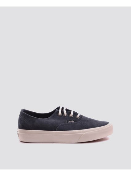 Blue Lace Up Suede Sneakers