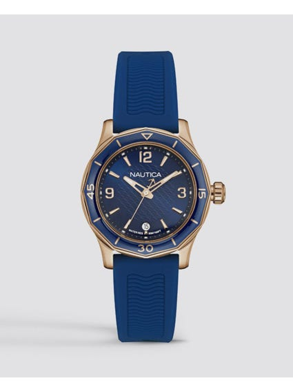 NWS 01 Blue Dial Watch