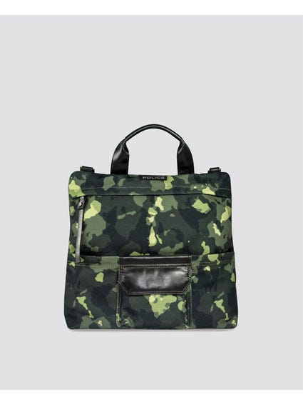 Camo Front Pocket Briefcase