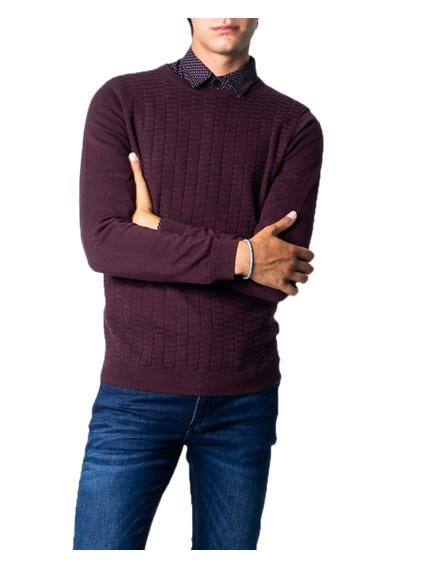 Long Sleeve Elastic Cuff Knitwear