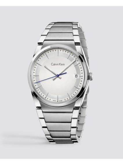 Step Silver Dial Stainless Steel Watch