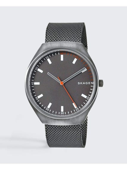 Grey Grenen Stainless Steel Watch