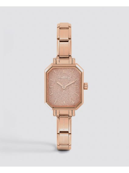 Rose Gold Classic Paris Analog Watch