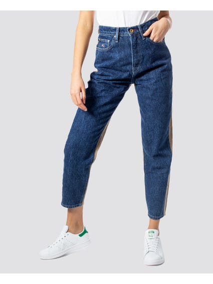 Corduroy Back Cropped Jeans