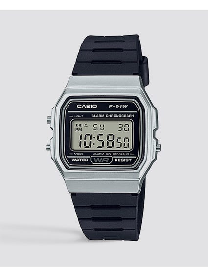 Two Tone Resin Strap Digital Watch
