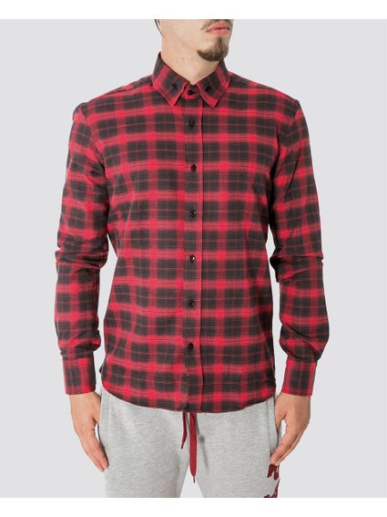 Red Checked Pattern Shirts