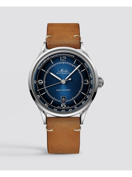 Brown Multifort Patrimony Watch