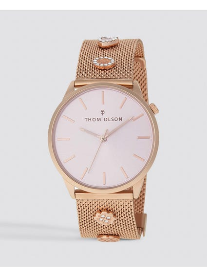 Rose Gold Gypset Stainless Steel Watch
