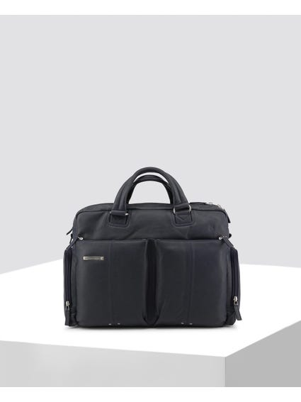Zipped Pockets Briefcase