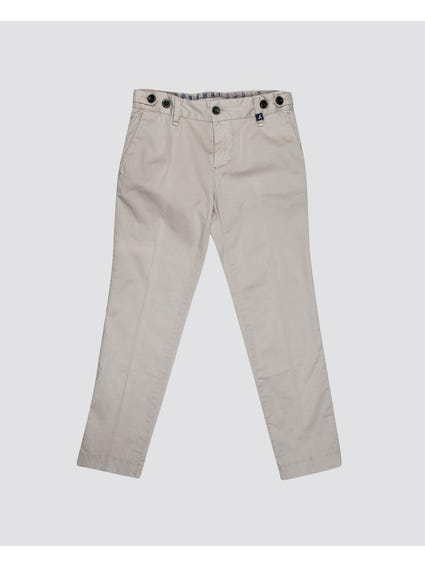 Grey Full Length Kids Trouser