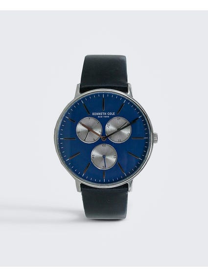 Navy New York Analog Watch