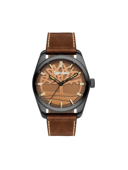 Brown Analog Watch