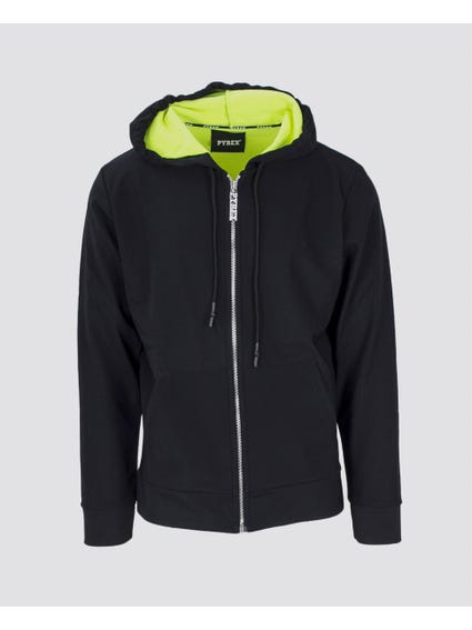 Maglia Full Zip Hooded Sweatshirt