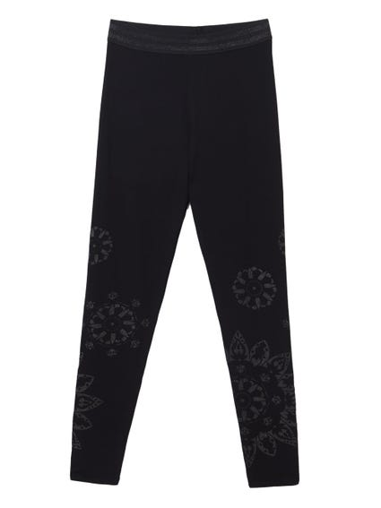 Elastic Waist Leggings