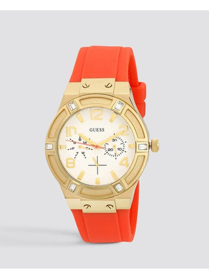 Analog Crystal Glitz Watch